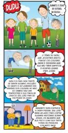 Folheto infantil DUDU - Pacote com 100 unidades